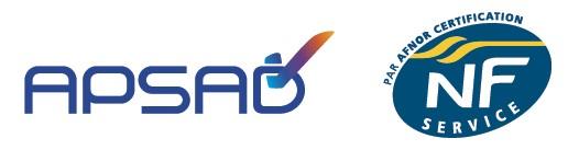 Certifiée APSAD NF SERVICES